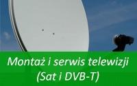 Montaż i serwis telewizji (Sat i DVB-T)
